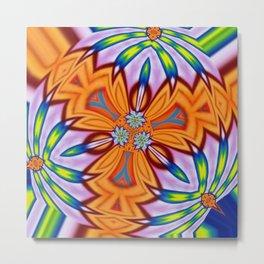 Flower Power : Full Bloom Metal Print