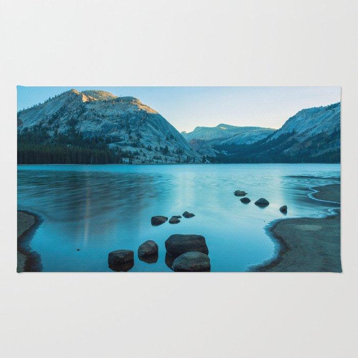 Tenaya Lake at Sunrise Rug