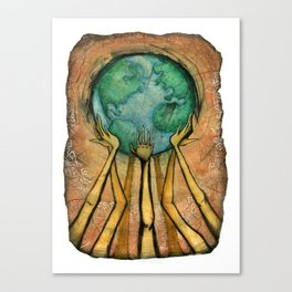 """Shake Up the World"" Canvas Print"