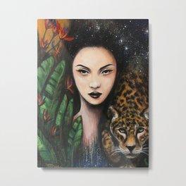 Fierce Beauty Metal Print