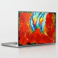 gemini Laptop & iPad Skins featuring Gemini by SteeleCat