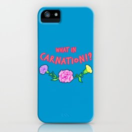 Seriouly, though... iPhone Case
