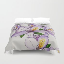 Calming Clematis Duvet Cover