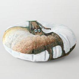 Careful Floor Pillow