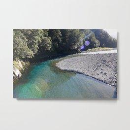 Blue Pools Metal Print