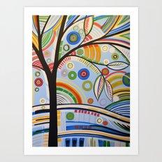 The Sound of Sunshine 3 Art Print