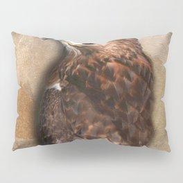 Peregrine Falcon Profile Pillow Sham