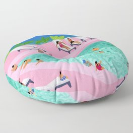 Seaview Floor Pillow