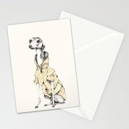 he would never do it Stationery Cards
