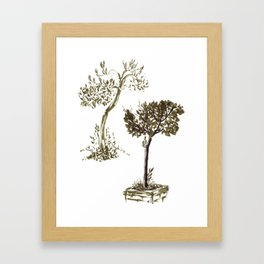 Tree 1-2 Framed Art Print