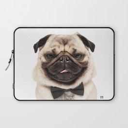 Helmut the Pug - Bow Tie Laptop Sleeve