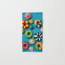 Carnival Donuts Hand & Bath Towel