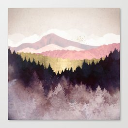 Plum Forest Canvas Print