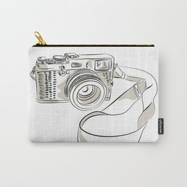 35mm SLR Film Camera Drawing Carry-All Pouch
