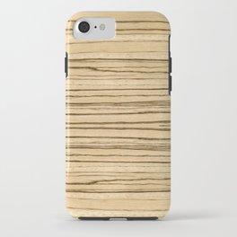 Zebrawood iPhone Case