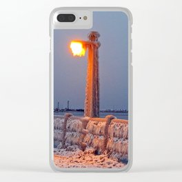 The Chill is On Clear iPhone Case