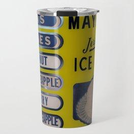 Vintage Ice Cream Sign 2 Travel Mug