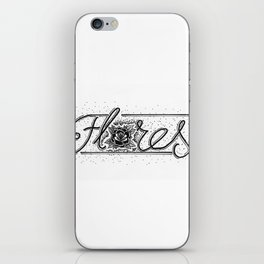 Flores / Flowers  iPhone Skin