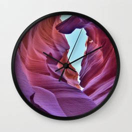 Lower Antelope Wall Clock
