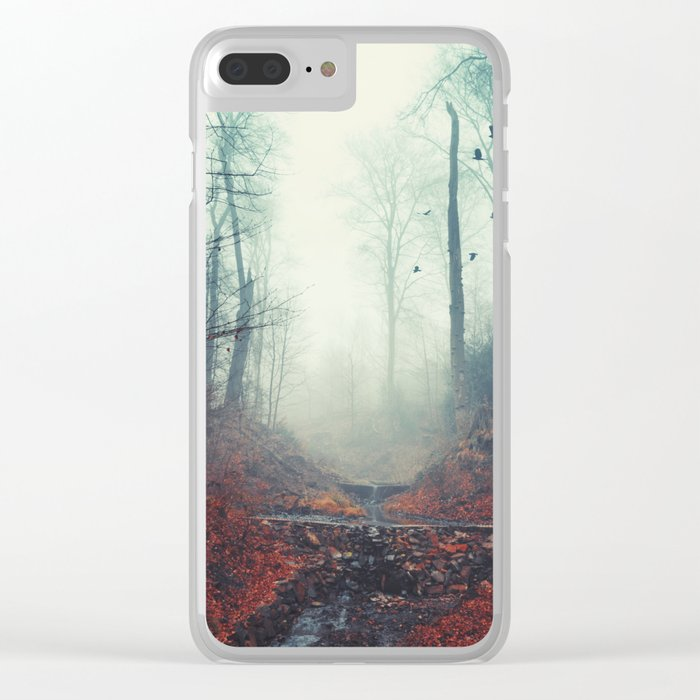 Misty March Morning Clear iPhone Case
