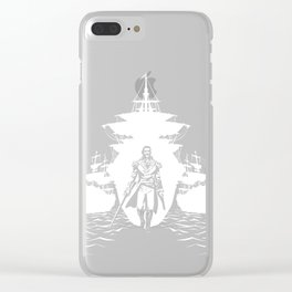 Guns and Ships Clear iPhone Case