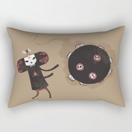 Katamari of the Dead Rectangular Pillow