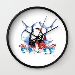 My donkeys Wall Clock