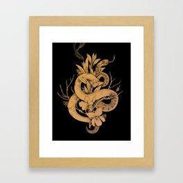 Sage Cleansing Rituals Framed Art Print