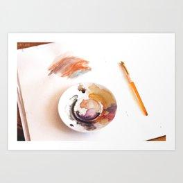 Art of art Art Print