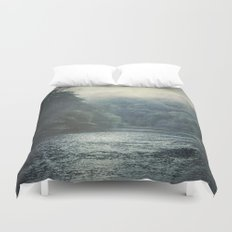 valley and river Duvet Cover