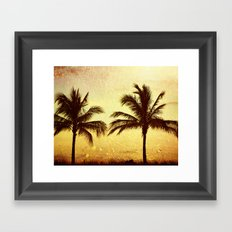 At Sunset Framed Art Print