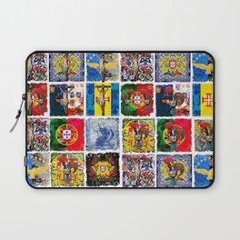 Portuguese art collage Laptop Sleeve