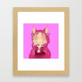 Little red kenma Framed Art Print