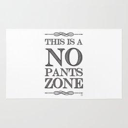 NO PANTS ZONE Rug