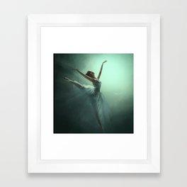 Dancing in the Light Framed Art Print
