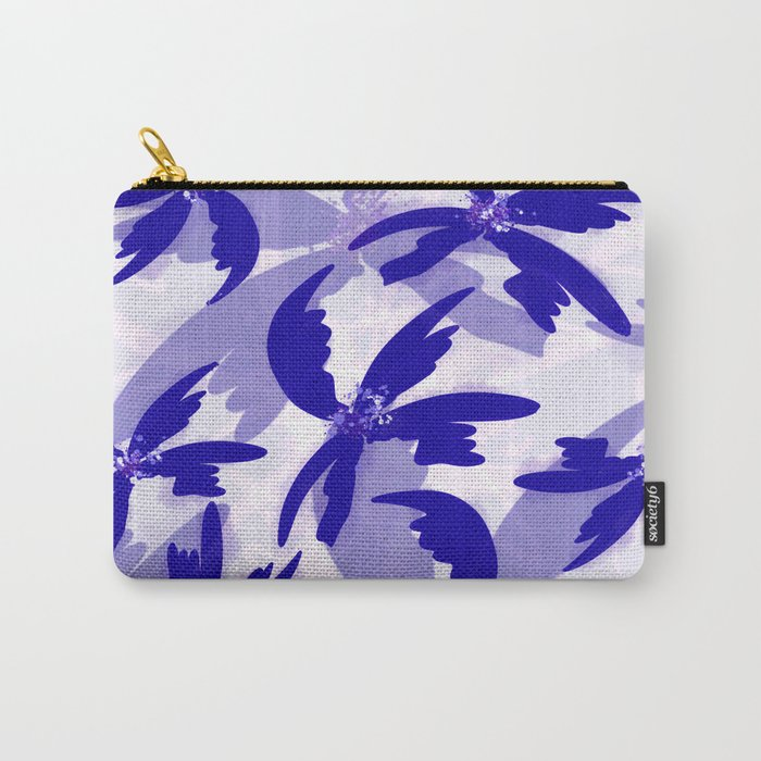 Windy Palm Trees Carry-All Pouch