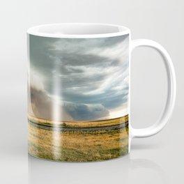 Colorful Colorado - Storm Advances Past Colorado State Line Sign Coffee Mug