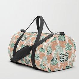Succulent's Tiny Pots Duffle Bag