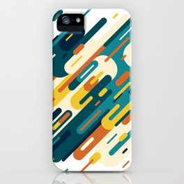 Lines from Retro iPhone Case