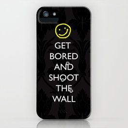 Smiley target iPhone Case