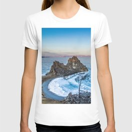 Shaman Rock on Olkhon Island, Baikal T-shirt