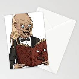 Zombies and the Book Stationery Cards