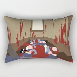 Bloody Twins Rectangular Pillow