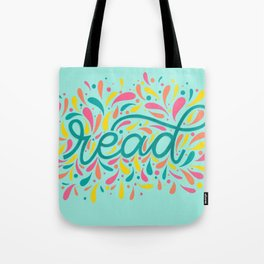 Reading is Beautiful Tote Bag