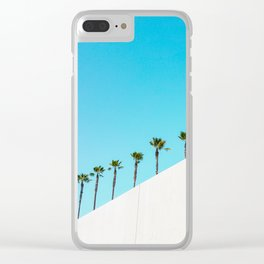 Parade of Palms Clear iPhone Case
