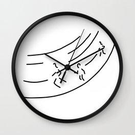 long distance metre run athletics marathon Wall Clock