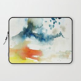 Ominous Silence Laptop Sleeve