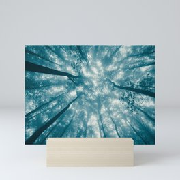 Smoky Mountain Summer Forest Teal - National Park Nature Photography Mini Art Print