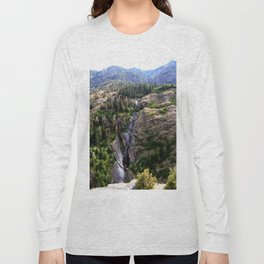 Driving the Spectacular, but Perilous Uncompahgre Gorge, No. 4 of 6 Long Sleeve T-shirt