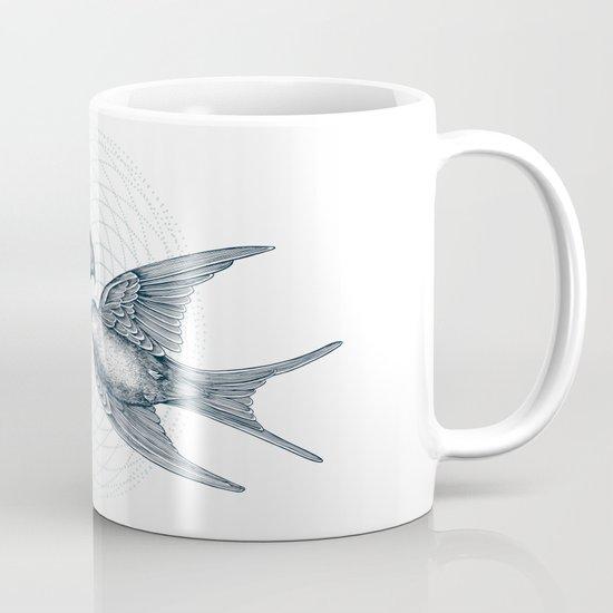 Two Swallows Mug